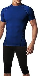 Compression Short Sleeve Shirts