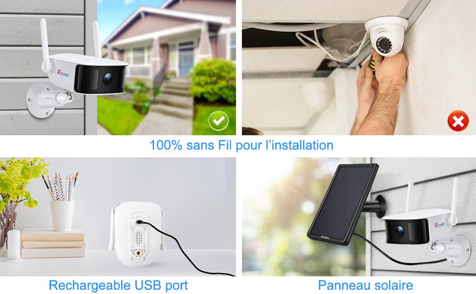 caméra surveillance sans fil