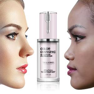 Brighten skin tone and concealer