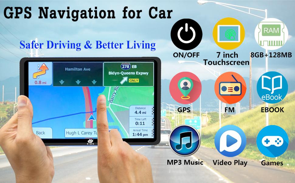 GPS navigation fo car