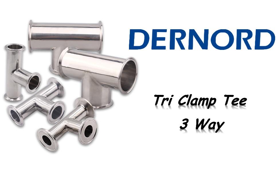 DERNORD Tri Clamp Tee