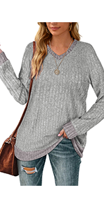 Lightweight Sweater V Neck