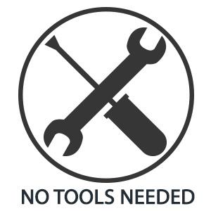 no tools needed pan rack lid holder organizer rack bakeware rack