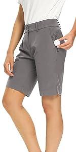 Womens Golf Bermuda Shorts