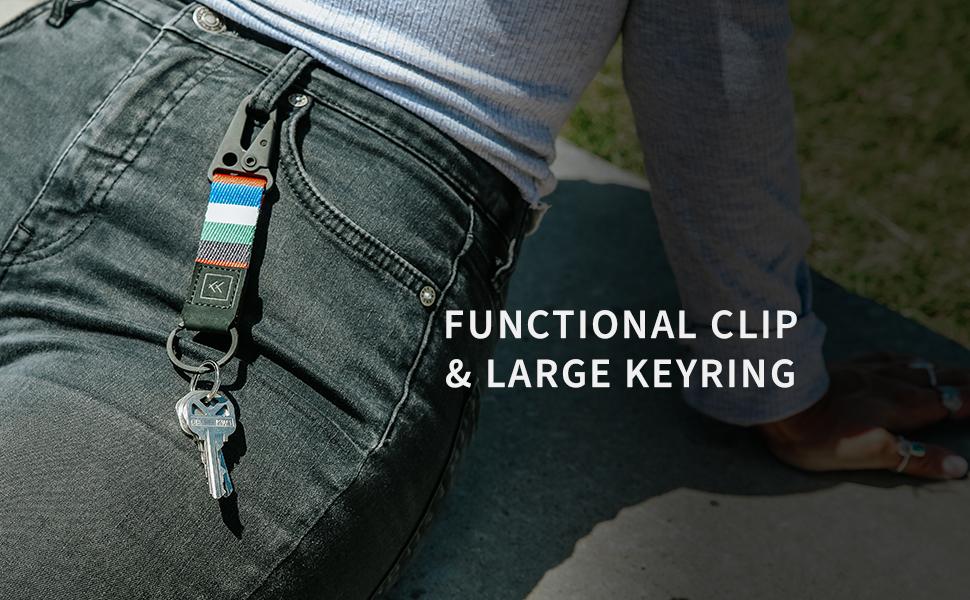 keychain clip, keychain, keys