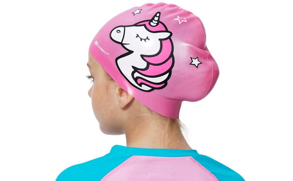 ZABERT kids swim cap
