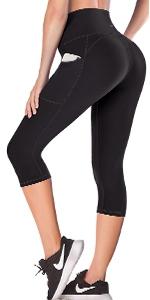 Capri leggings for women with pockets yoga pants for women capri workout leggings