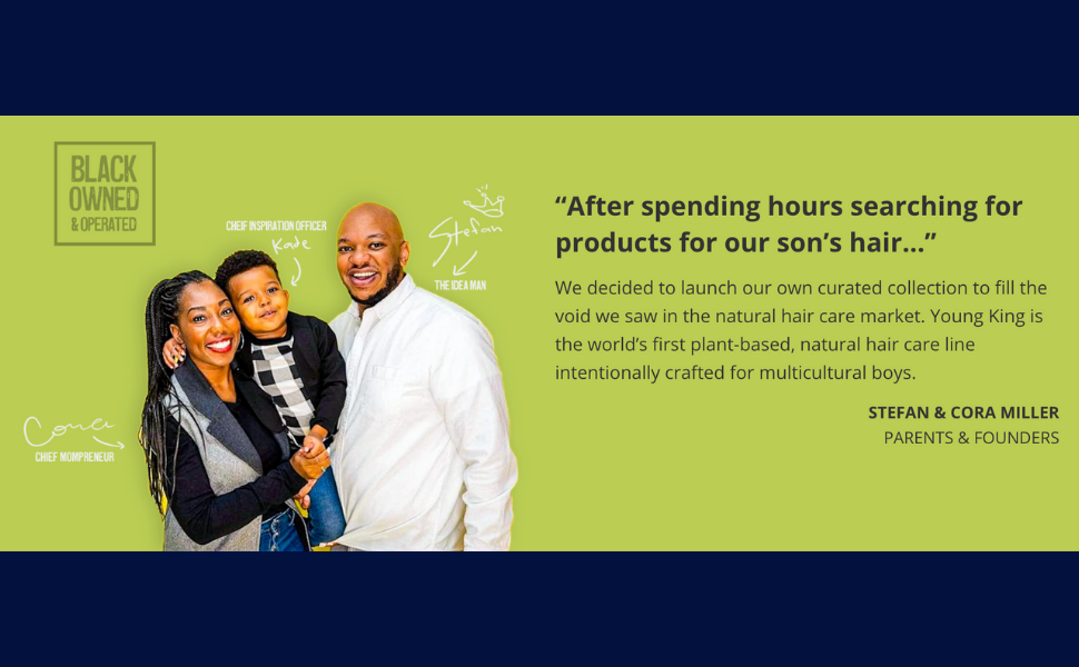 young king hair care