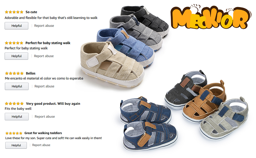 baby boys girls closed toes summer sandals