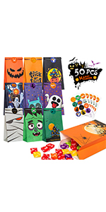 Halloween Candy Treat Bags