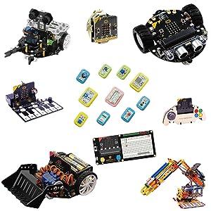 micro:bit microbit マイクロビット マイクロ ビット micro bit ロボット IoT ロボットカー ラジコン ブロック 時計 センサー