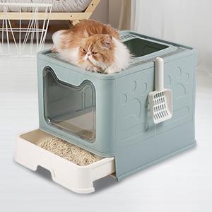 Drawer design cat litter box