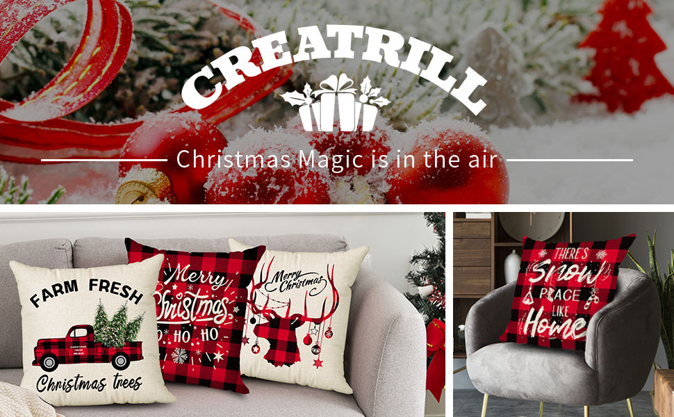 pillow covers christmas decorative