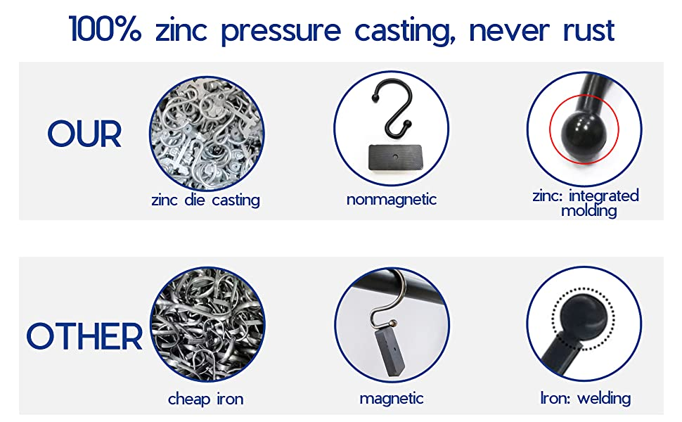 100%zinc pressure casting