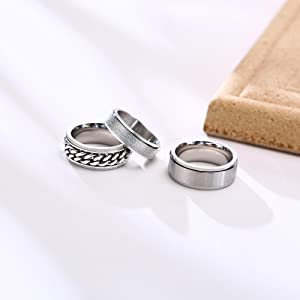 ANXIETY RINGS SET