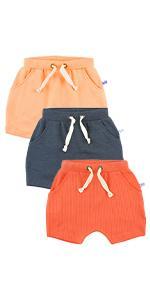 RuffleButts Jogger Shorts