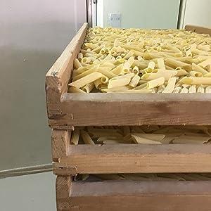Faella Penne In Wooden Racks