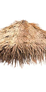 Mexican Straw Grass Thatch - Umbrella Cover