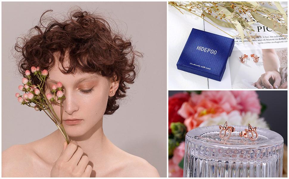 Unicorn Gifts for Girls Earrings