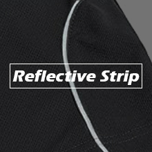 running shorts for men Reflective strip