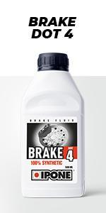 brake dot 4 liquide de frein moto IPONE