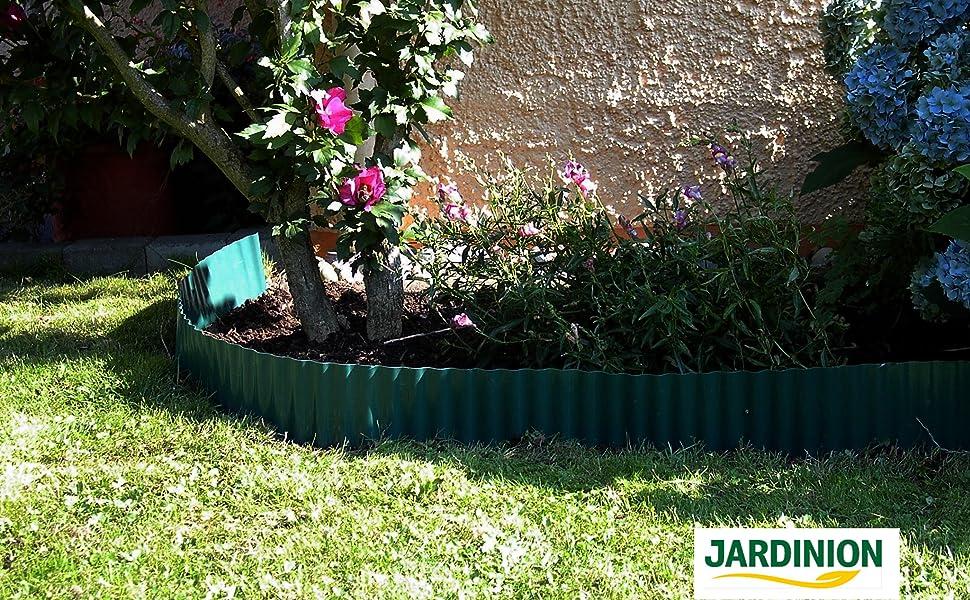 Rasenkante im Garten Beetabtrennung Anwendungsbild
