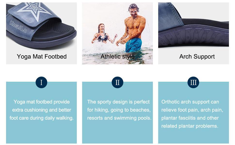 Sport style sanldals for men