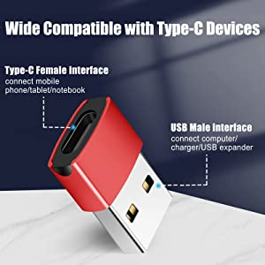 Wide Compatible with Type-C Devices