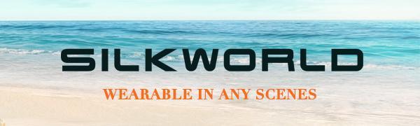 SILKWORLD  SWIM SHORTS