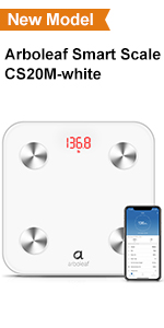 Arboleaf smart scale for body weight bathroom scale