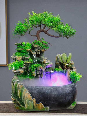 Desktop Fountain with LED Light