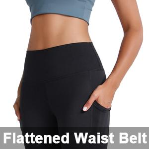 Flattened Waist Belt