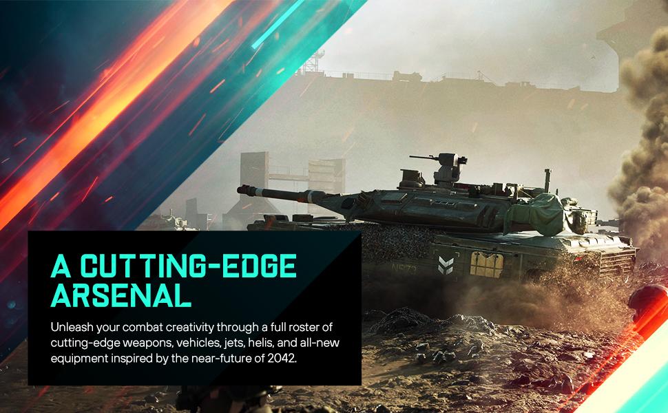 Cutting edge arsenal