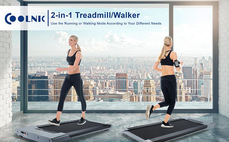 Electric Treadmill Under Desk Walking Motorized Exercise Machine
