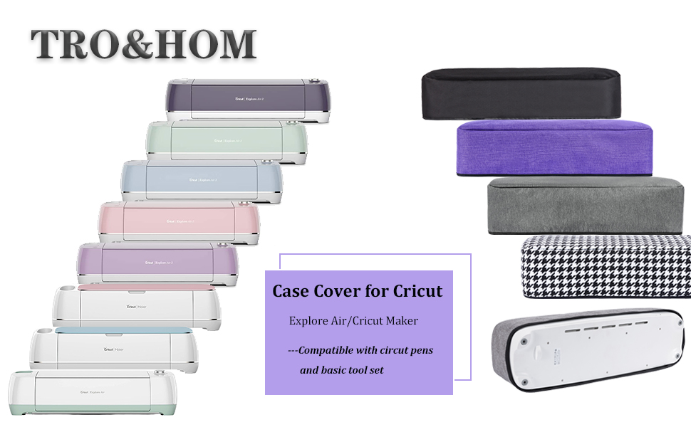 Luxja Dust Cover Compatible with Cricut Explore Air and Explore Air 2