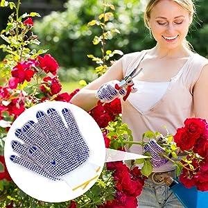 garden  non-slip gloves flowers protect hands