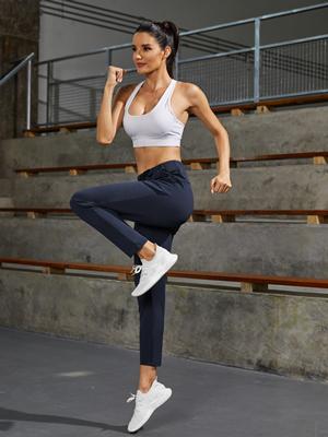 Women's Joggers Yoga Pants Lightweight Sweatpants with Pockets