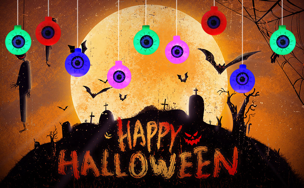 Halloween eyeball lights