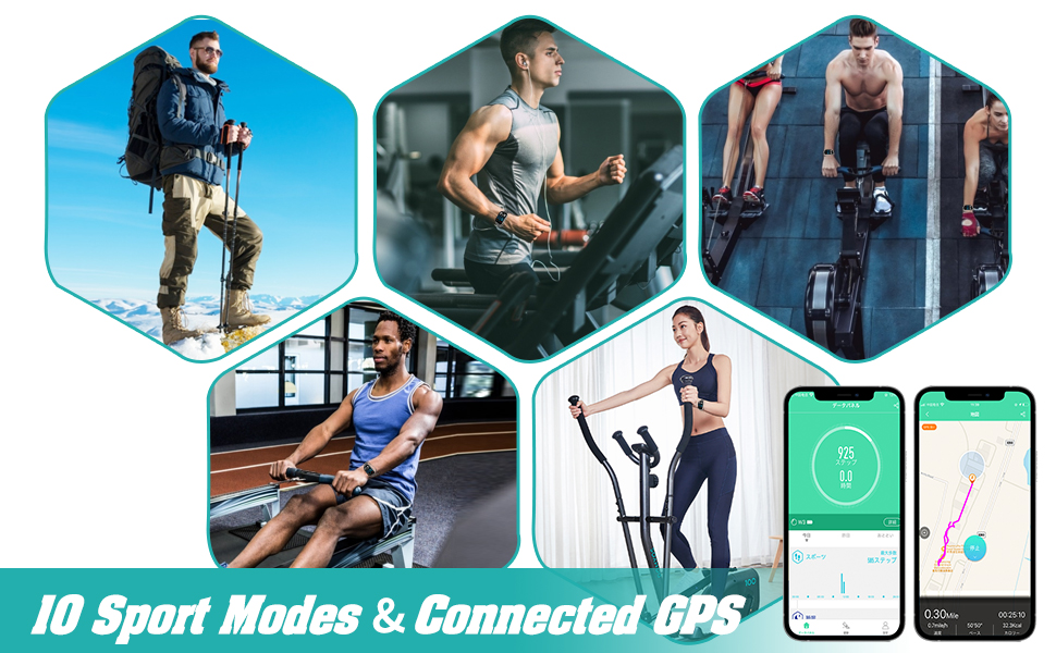 Multiple Training modes amp;amp; Connected GPS