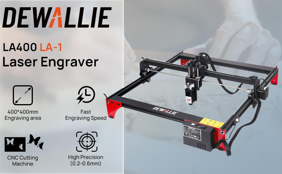 DEWALLIE LASER engraver