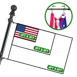 flag pole for porch