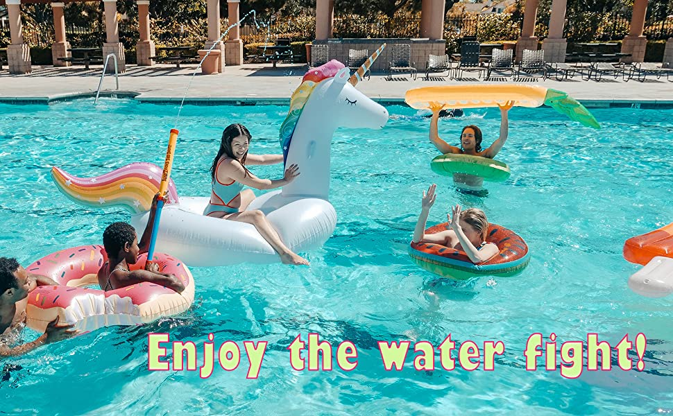 Enjoy the water Fight