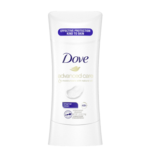 Dove Advanced Care Original Clean Antiperspirant Deodorant, 2.6 oz, for soft amp; comfortable underarms