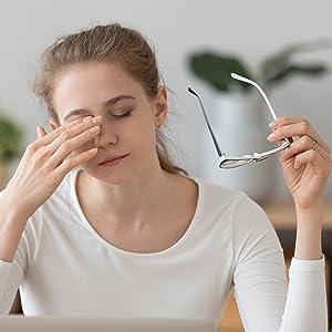 relief eye strain