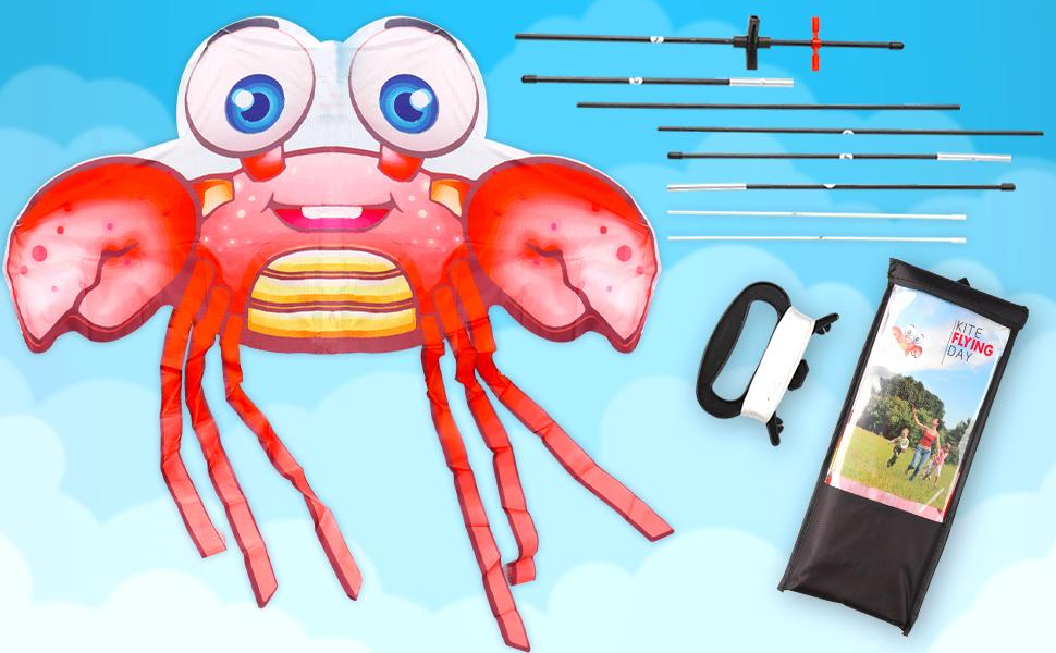 crab kite- What's in package