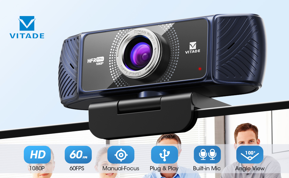VITADE 1080P 60FPS WEBCAM 682HT