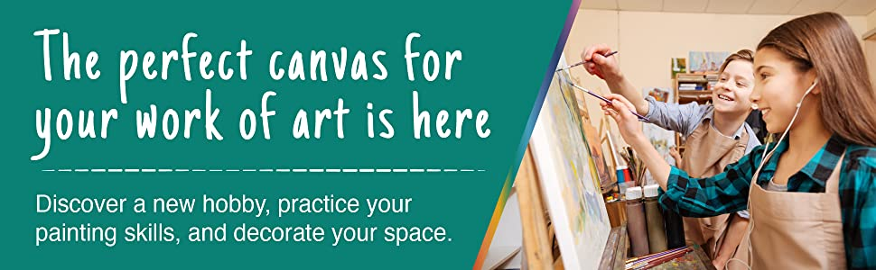 the perfect canvas for your work of art is here