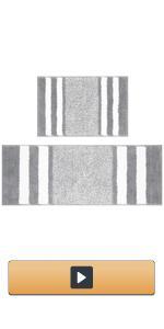 Bathroom Rugs Sets 2 Piece