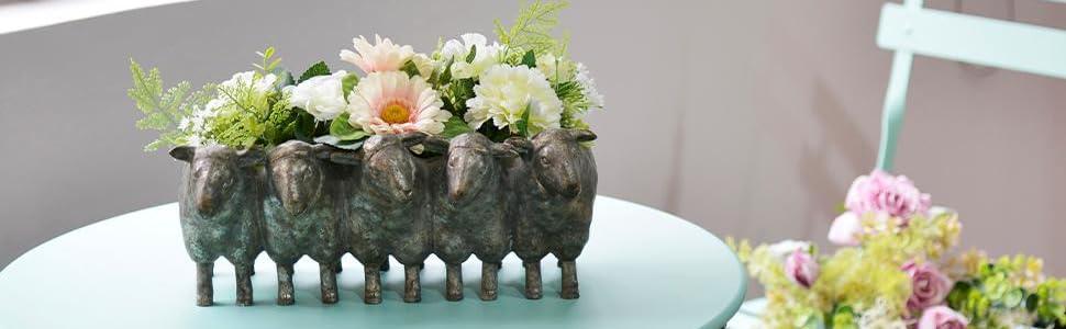 Sheep Succulents Flower Pot