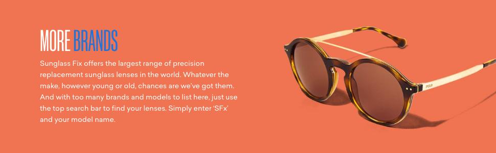 Sunglass Fix replacement lenses for sunglasses